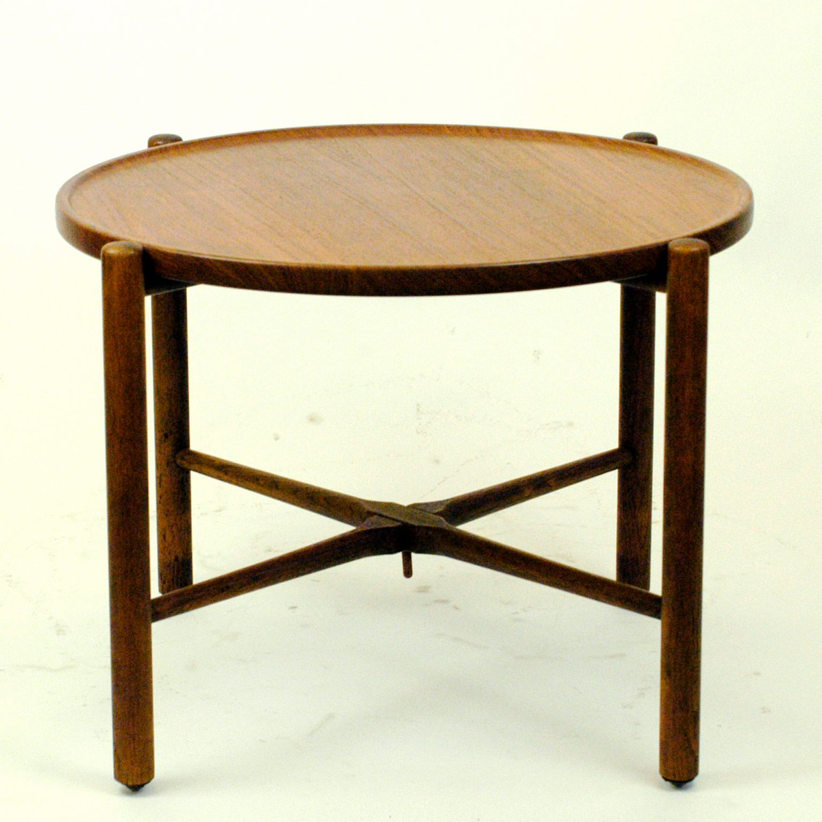 Antique Teak Coffee Table: Vintage Danish Teak Coffee Table By Hans Wegner For