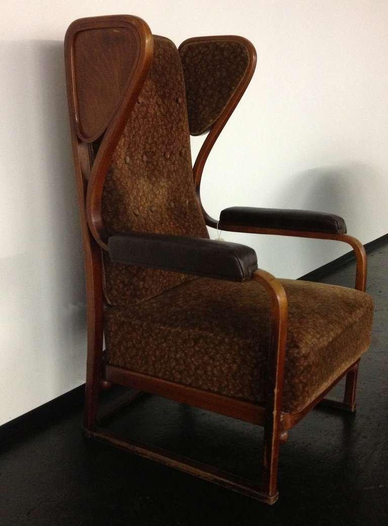 sessel von josef hoffmann f r j j kohn wien 1900er bei pamono kaufen. Black Bedroom Furniture Sets. Home Design Ideas