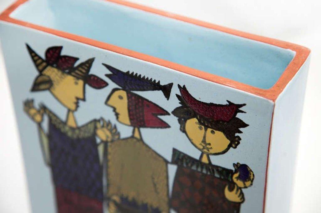 Ufficio Creativo Faenza : Ceramica carlo zauli faenza ciotola a motivi geometrici