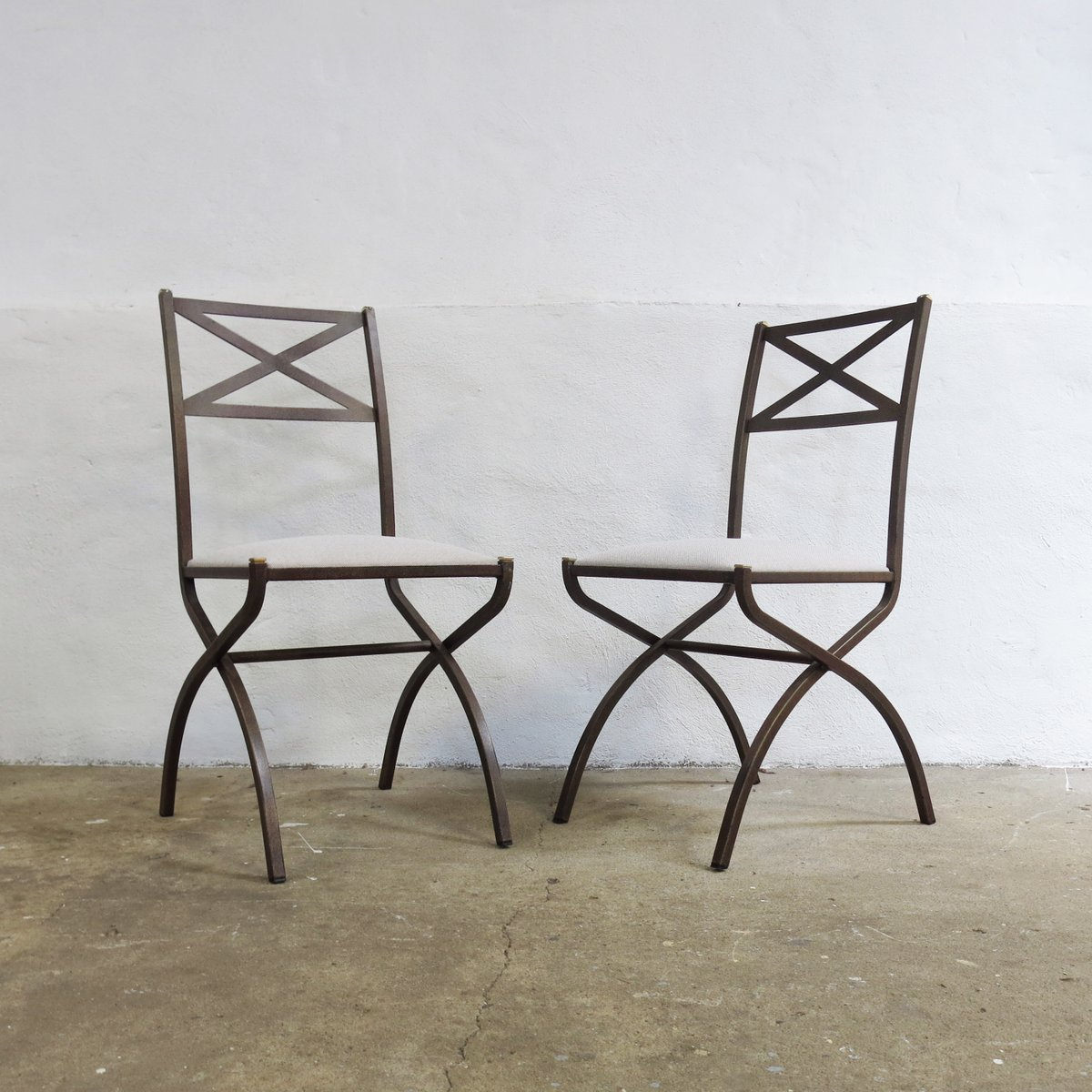 set de salle manger vintage avec table et 4 chaises par pierre vandel france 1970s en vente. Black Bedroom Furniture Sets. Home Design Ideas
