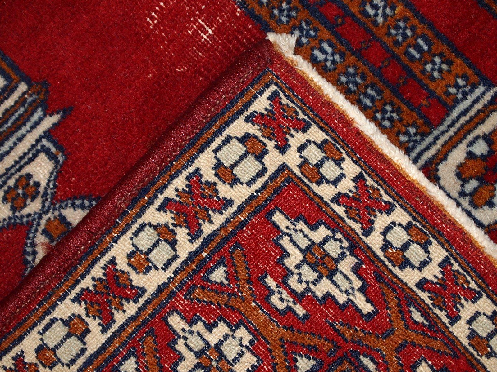 tapis de pri re vintage fait main turquie 1960s en vente sur pamono. Black Bedroom Furniture Sets. Home Design Ideas