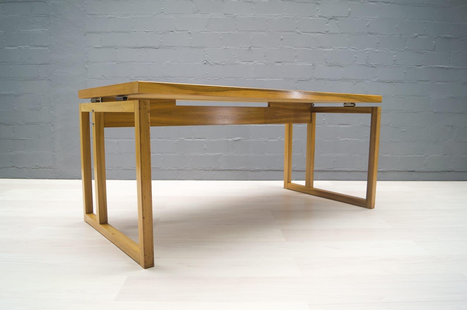 schreibtisch mit rollschubladen von wk m bel 1960er bei pamono kaufen. Black Bedroom Furniture Sets. Home Design Ideas