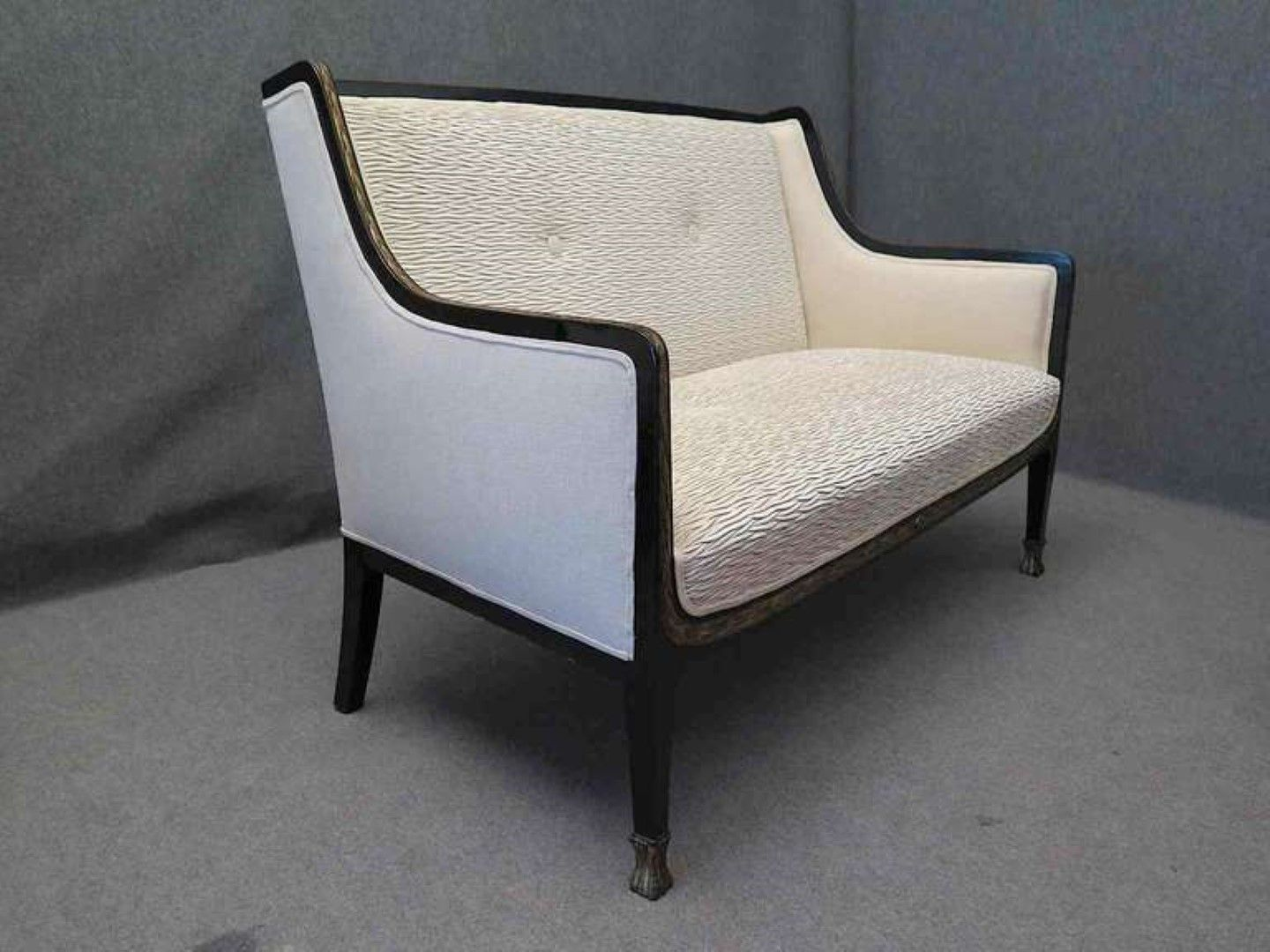 austrian art deco sofa 1920s for sale at pamono. Black Bedroom Furniture Sets. Home Design Ideas