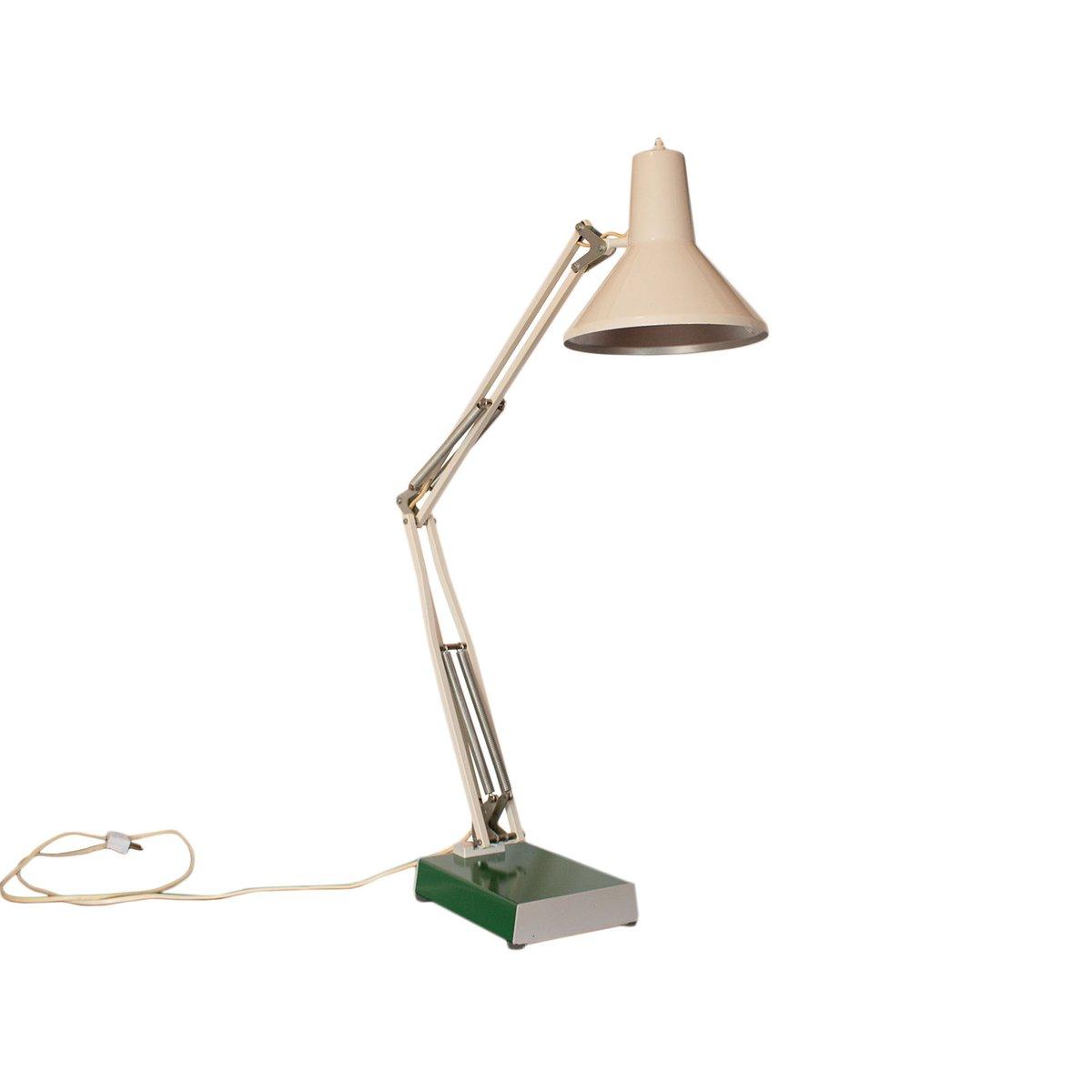 Lampe De Bureau D Architecte Vintage De Hcf En Vente Sur Pamono
