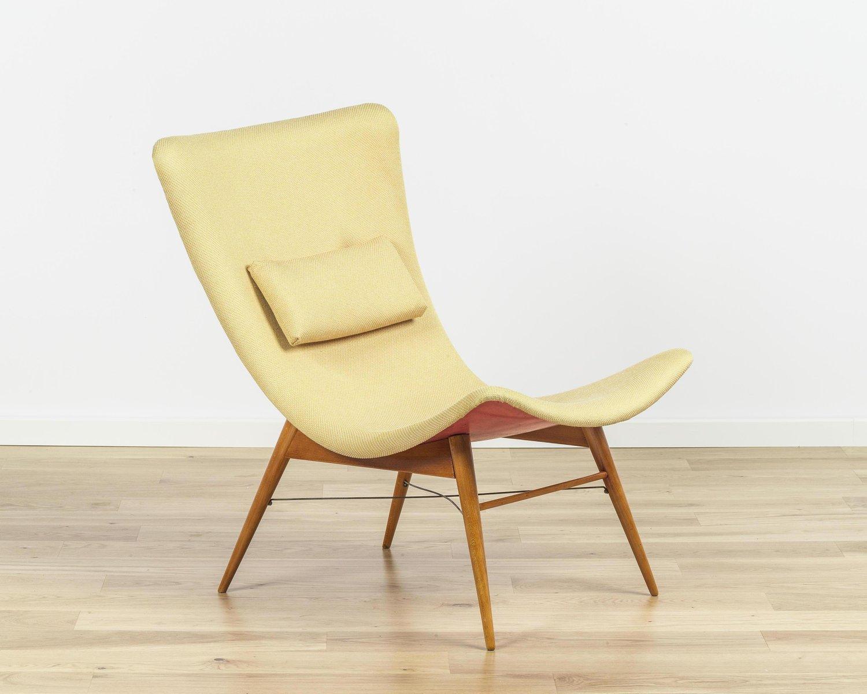 Vintage Stuhl von Miroslav Navrátil für Cesky Nabytek, 1960er