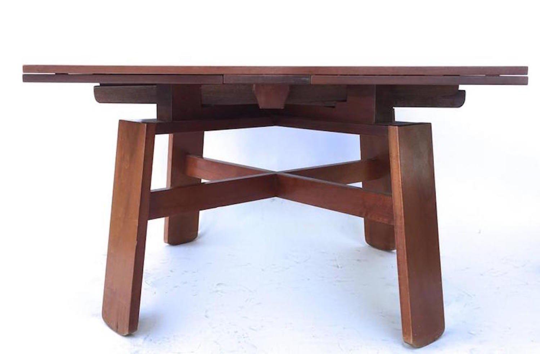 Tavolo da pranzo con 4 sedie di silvio coppola per bernini for Bernini arredamento