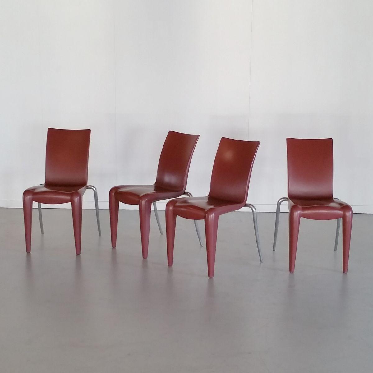chaises louis 20 par philippe starck pour vitra 1990s. Black Bedroom Furniture Sets. Home Design Ideas