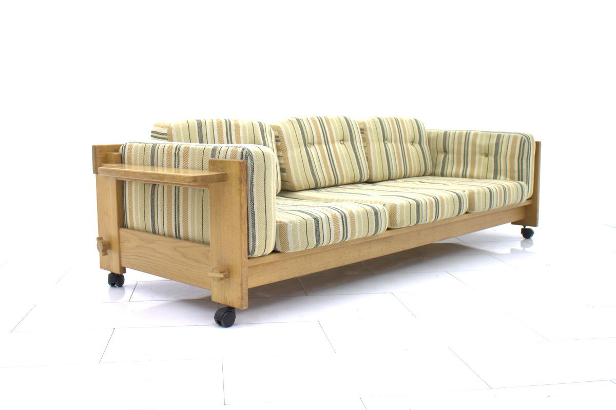 canap trois places par yngve ekstr m pour swedese 1969 en vente sur pamono. Black Bedroom Furniture Sets. Home Design Ideas