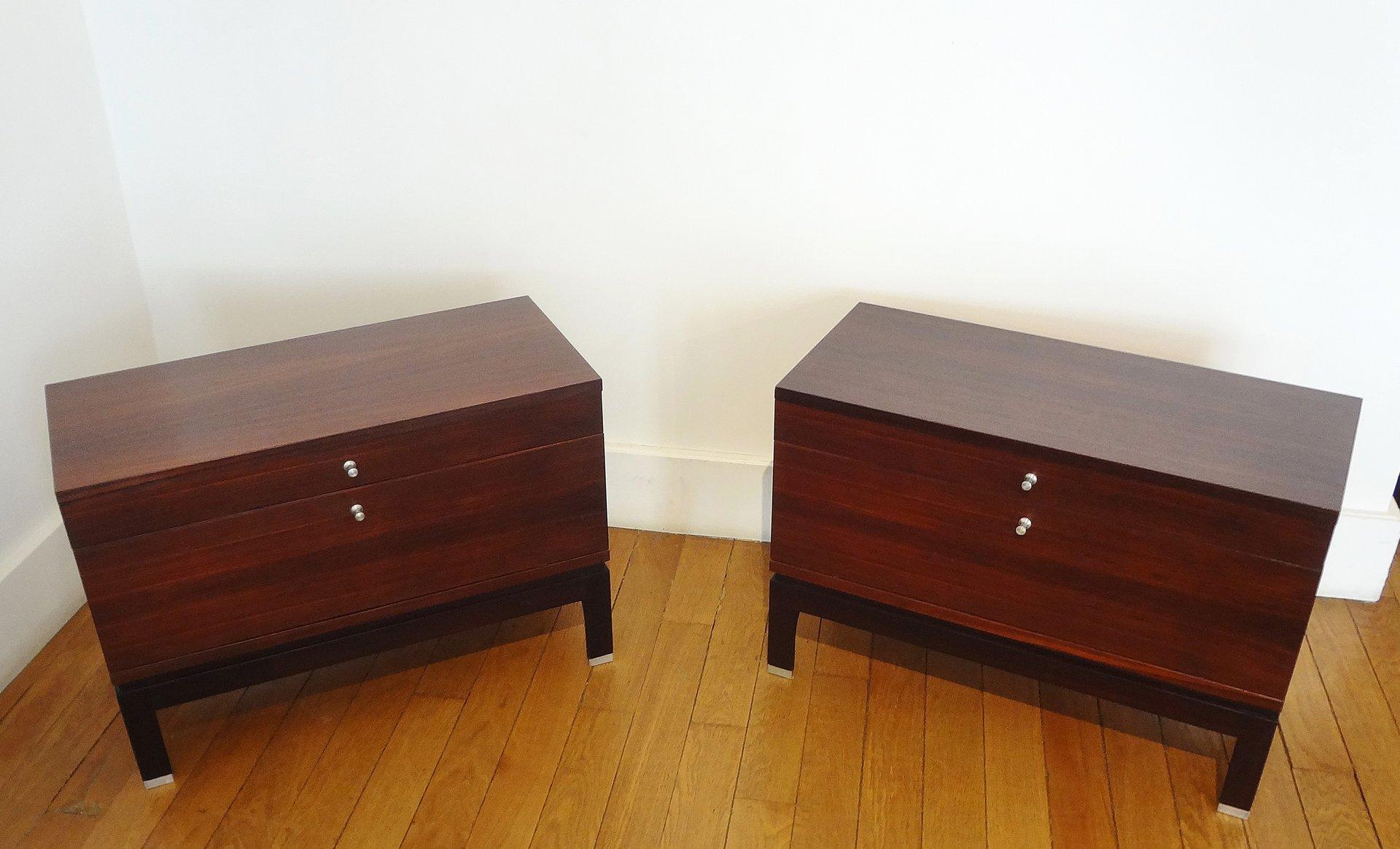 italienische kommoden von mim 1960er 2er set bei pamono. Black Bedroom Furniture Sets. Home Design Ideas