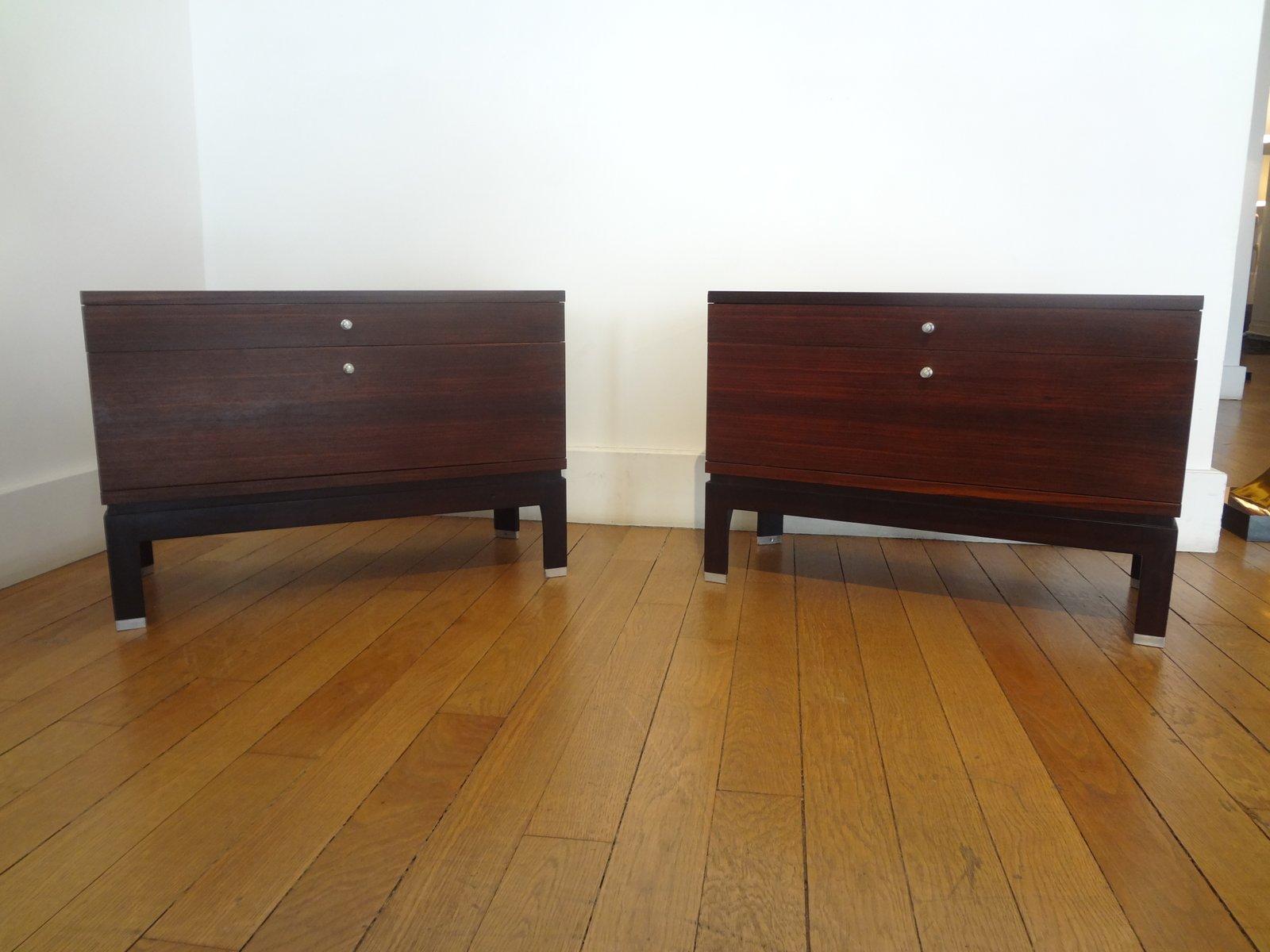 italienische kommoden von mim 1960er 2er set bei pamono kaufen. Black Bedroom Furniture Sets. Home Design Ideas