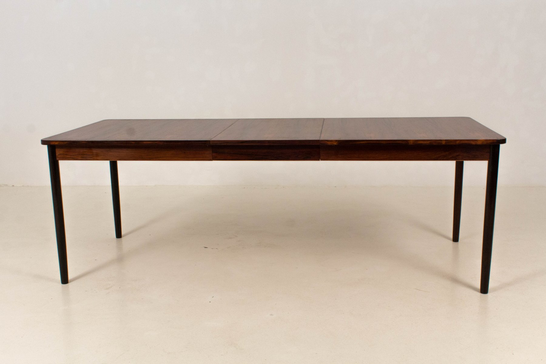 Mid century modern large extendable dining table from fristho 1960s