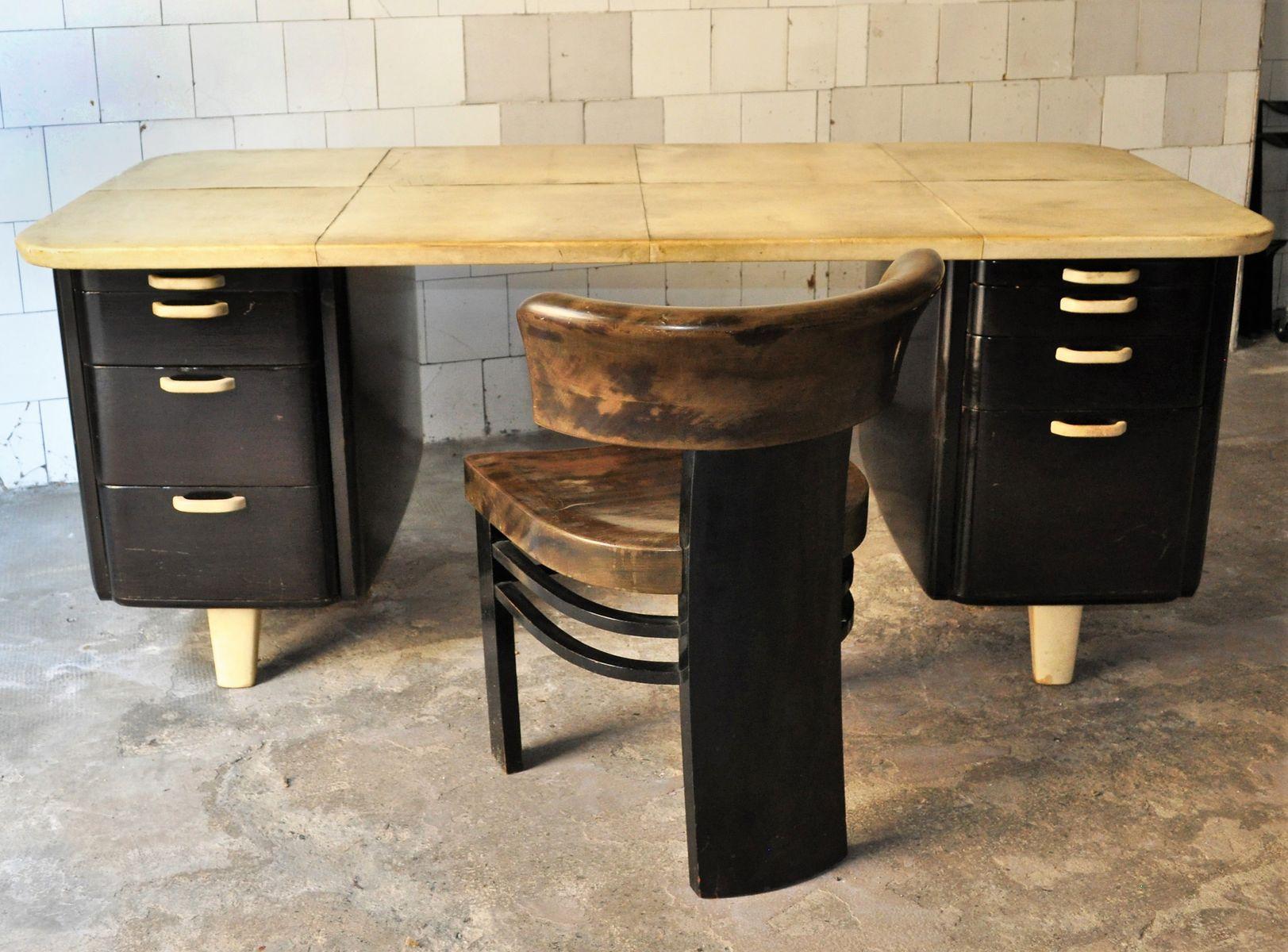Sedie In Legno Colorate : Sedia in legno colorato di vittorio valabrega anni 30 in vendita