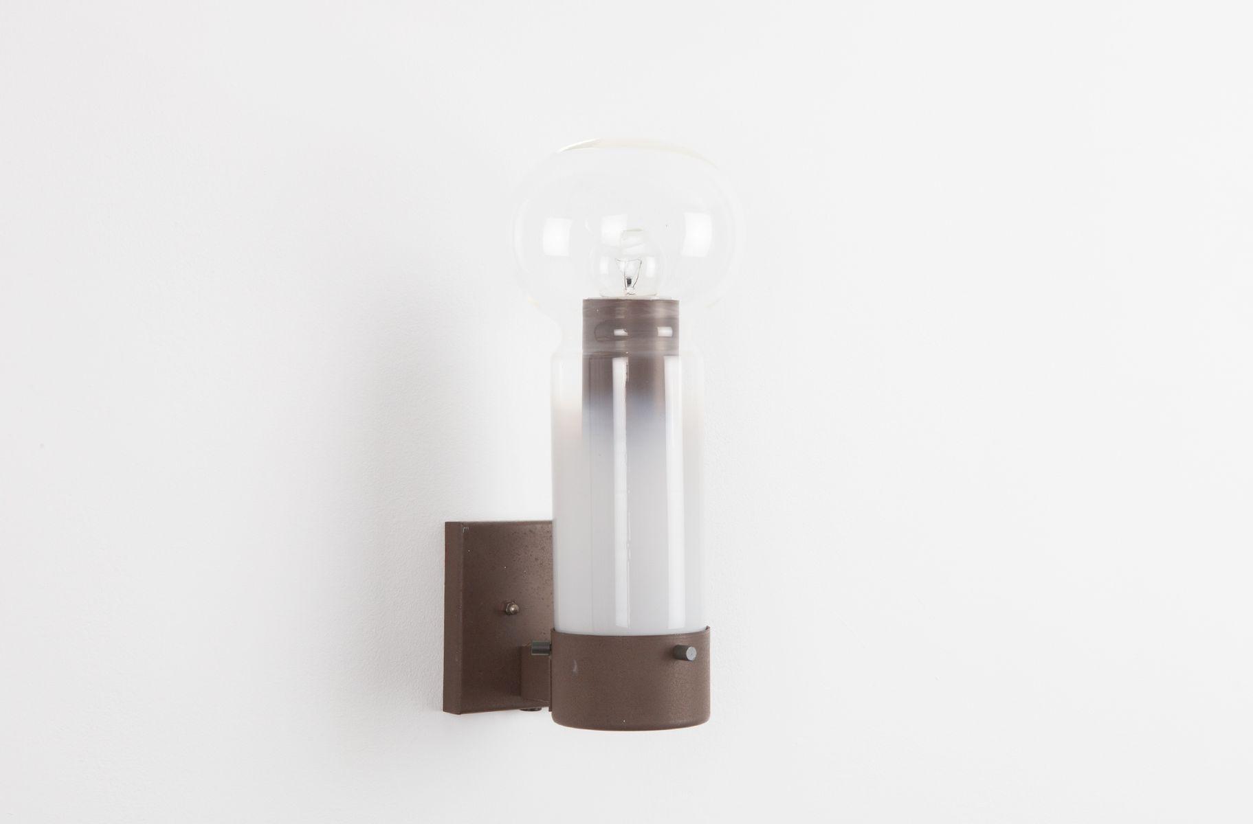 Vintage Zandloper Wandlampe von Raak