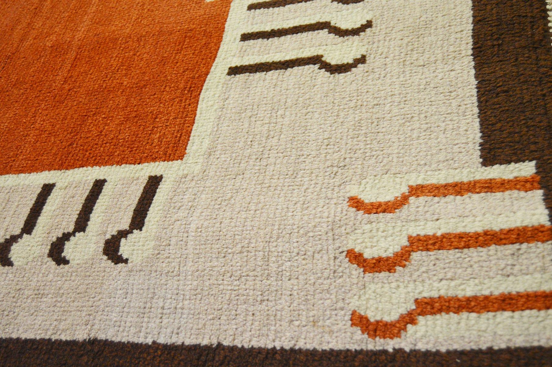 Gro er art deco teppich bei pamono kaufen - Art deco teppich ...