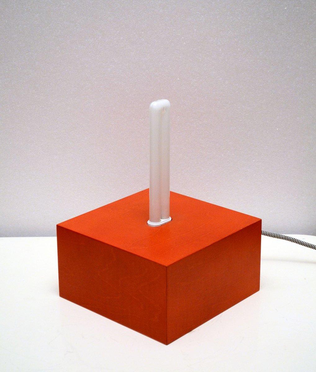 Jagati Tischlampe aus Holz von Ettore Sottsass für Memphis, 2000