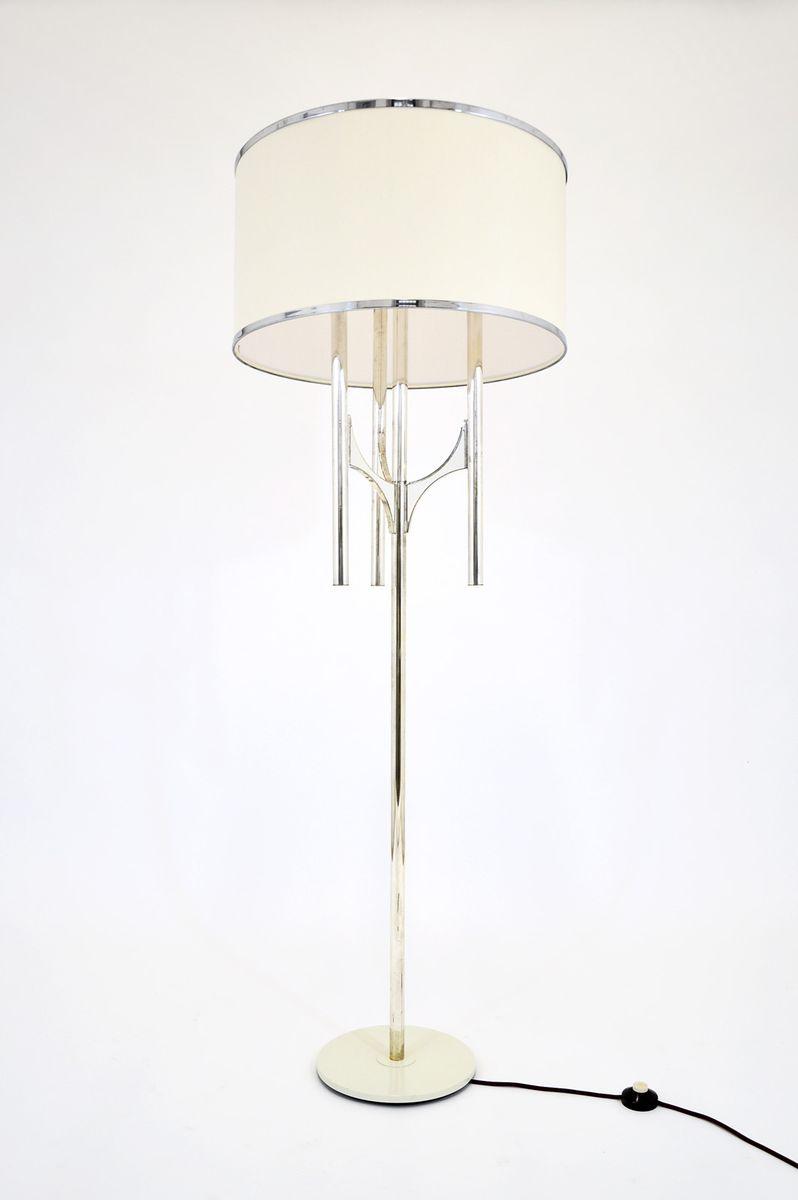 DN/1 Stehlampe von Gaetano Sciolari für Sciolari, 1960er