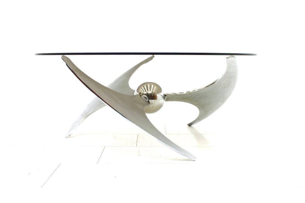 Vintage Propeller Esstisch von L. Campanini für Cama