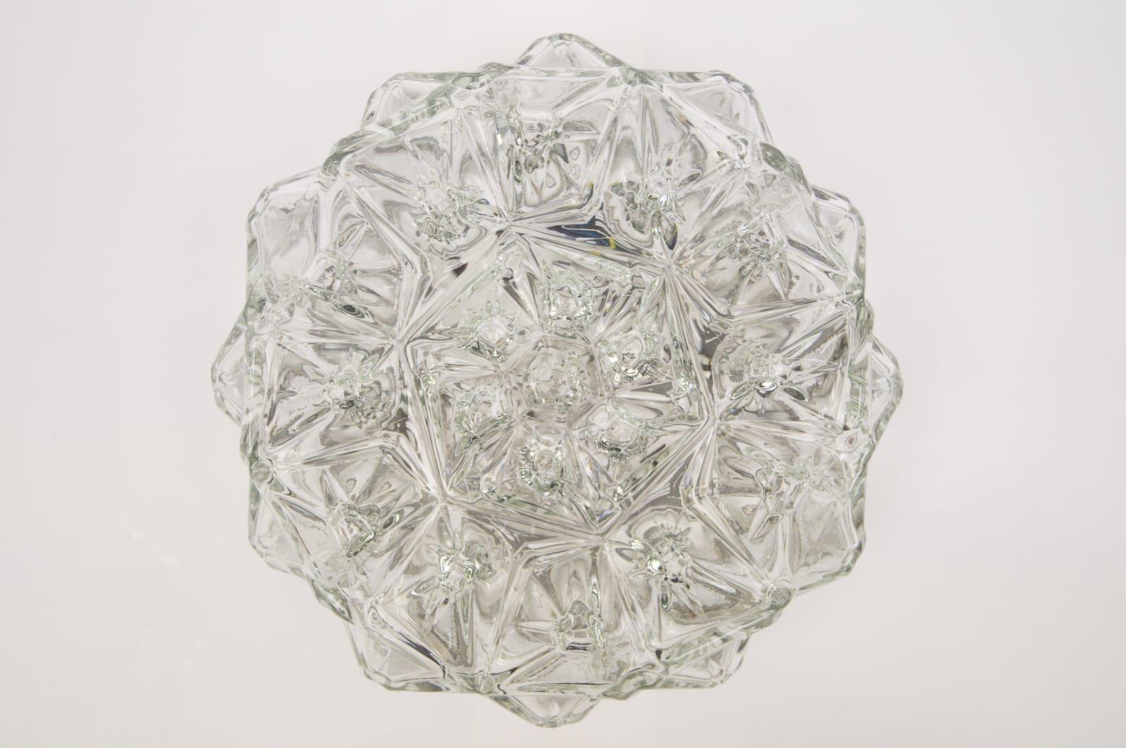 Kleine Geometrische 3D Lampe, 1960er
