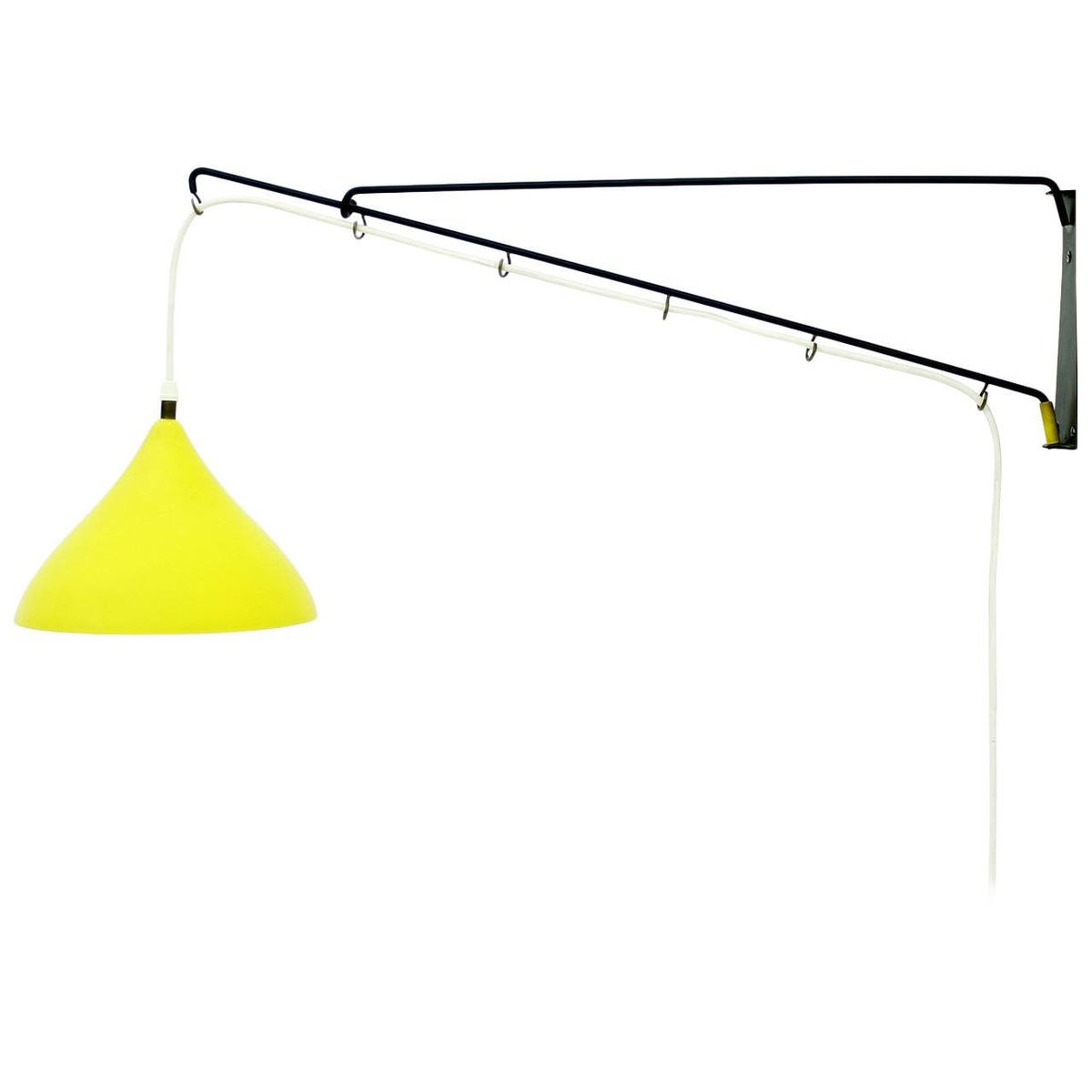 Gegengewicht Wandlampe von Cosack, 1950er