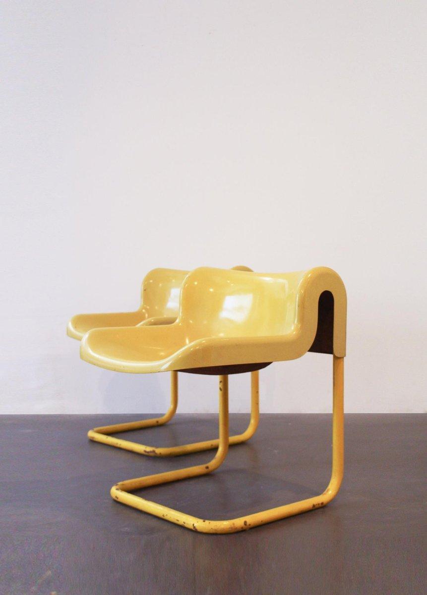 Fiberglass Chairs, 1970s, Set Of 2