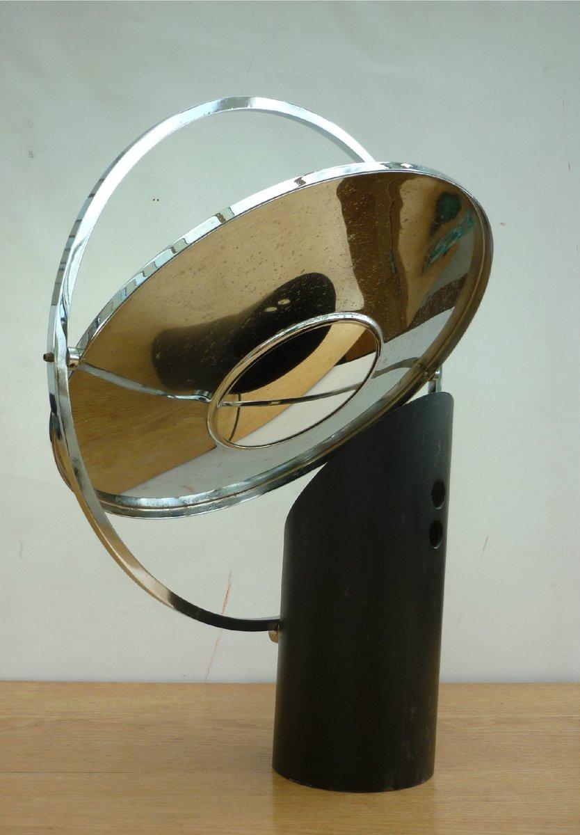 Französische Space Age Tischlampe, 1970er