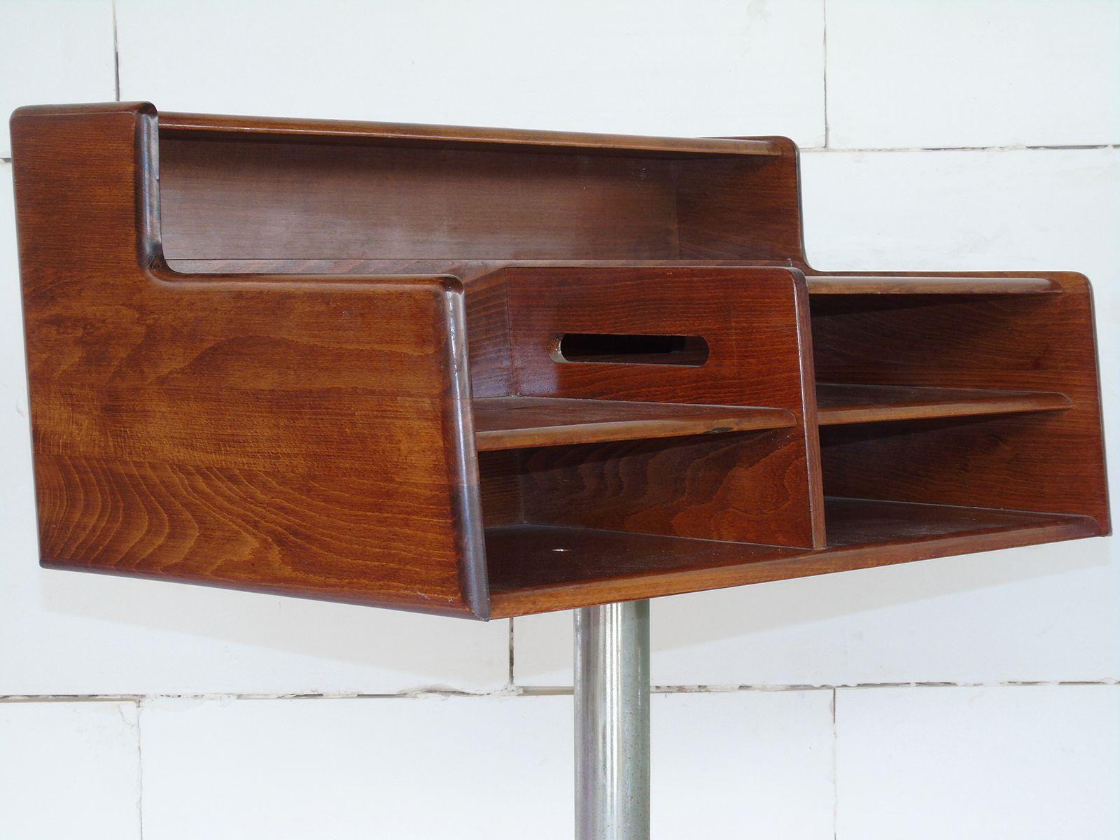 Bureau en acier et bois de fimsa italie s en vente sur pamono