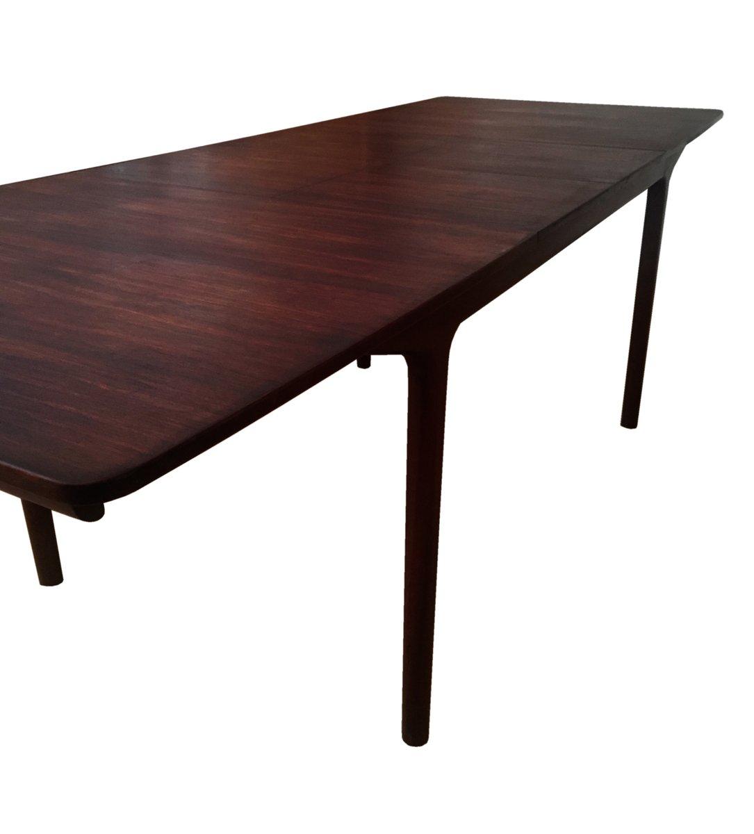 gro er mid century 12 sitzer palisander esstisch von tom robertson f r mcintosh bei pamono kaufen. Black Bedroom Furniture Sets. Home Design Ideas