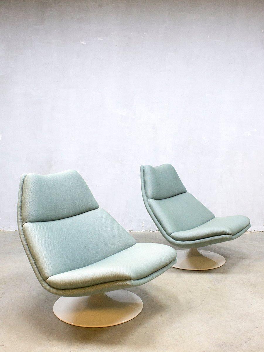 F511 Drehstuhl von Geoffrey Harcourt für Artifort, 1960er