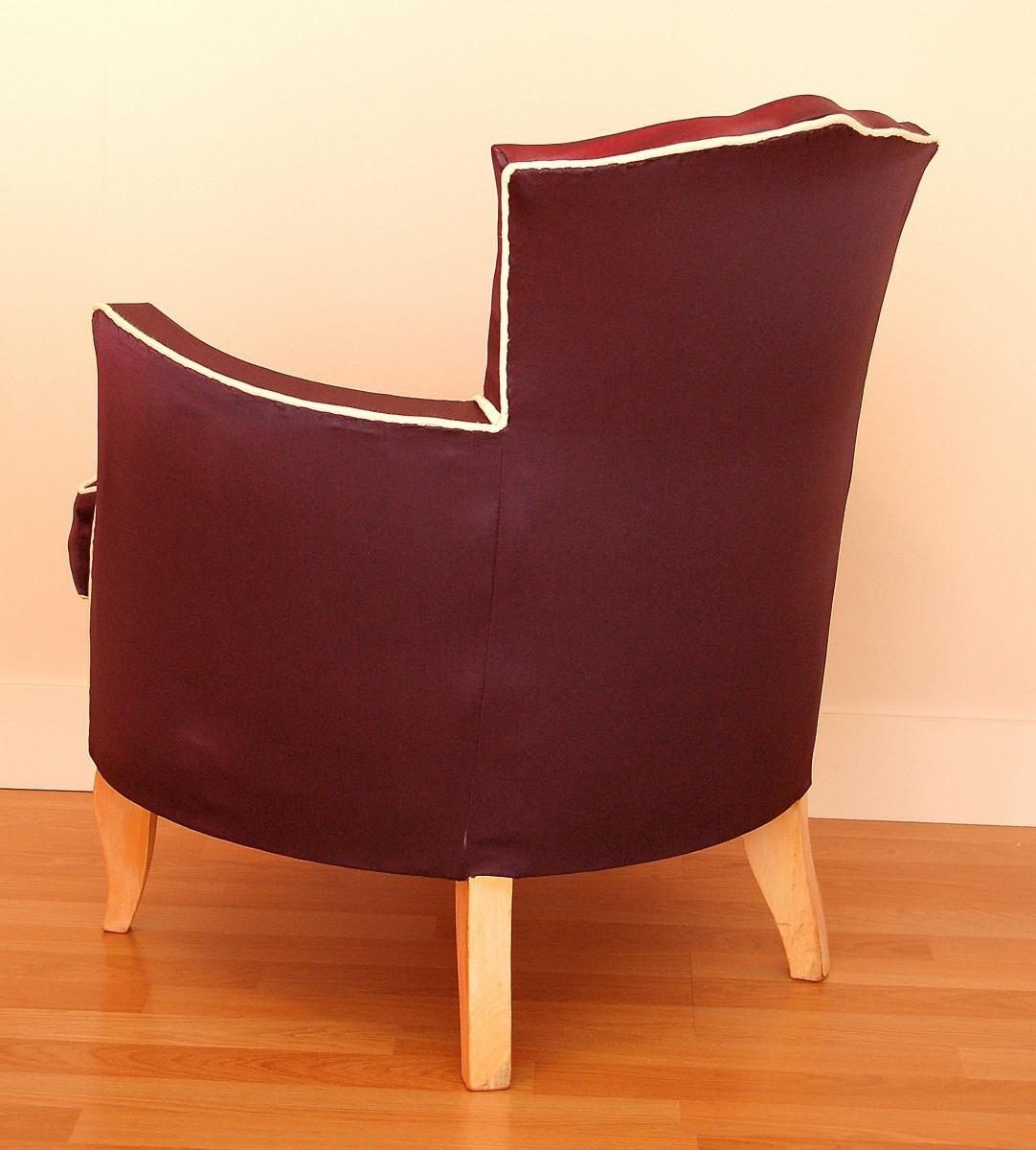 fauteuil art d co 1930s en vente sur pamono. Black Bedroom Furniture Sets. Home Design Ideas