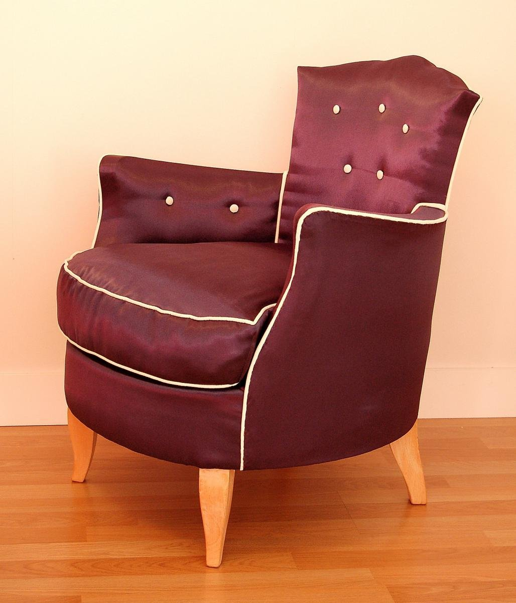 art deco sessel 1930er bei pamono kaufen. Black Bedroom Furniture Sets. Home Design Ideas