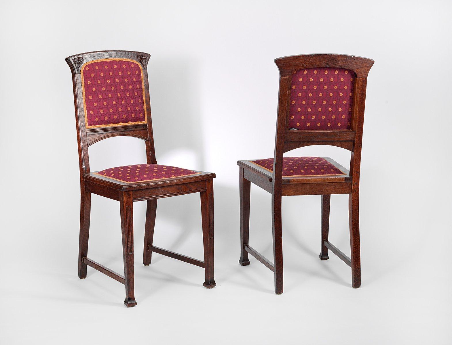 Antike Jugendstil Stühle 2er Set Bei Pamono Kaufen
