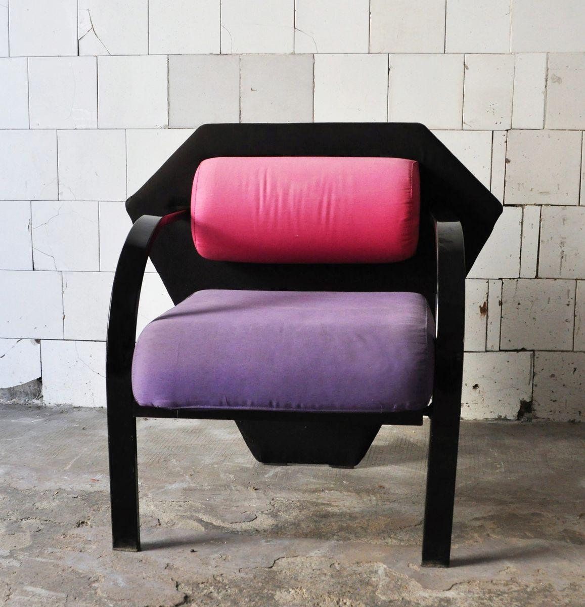 Postmoderner Sessel, 1980er