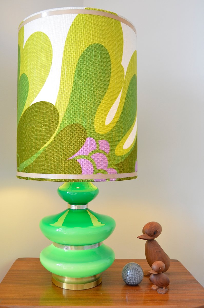 Lampe de bureau style flower power 1970s en vente sur pamono - Lampe de bureau style anglais ...