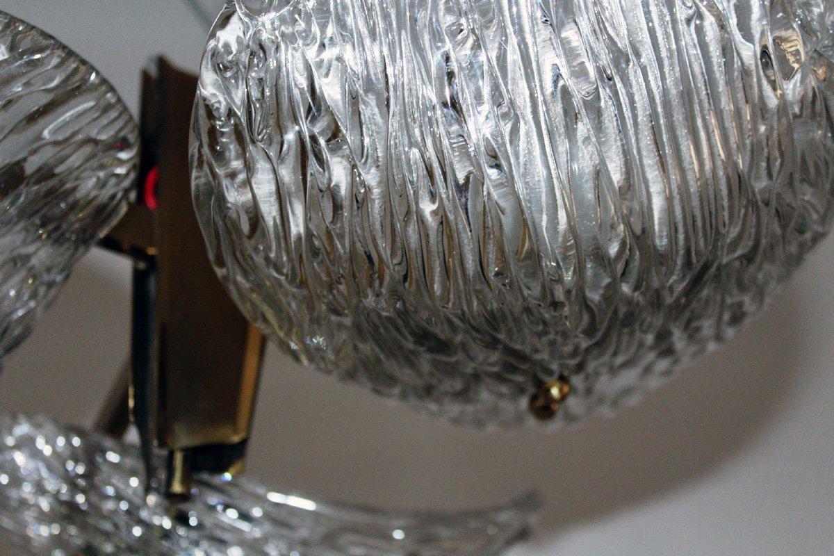 lampe en verre de murano de kalmar 1950s en vente sur pamono. Black Bedroom Furniture Sets. Home Design Ideas