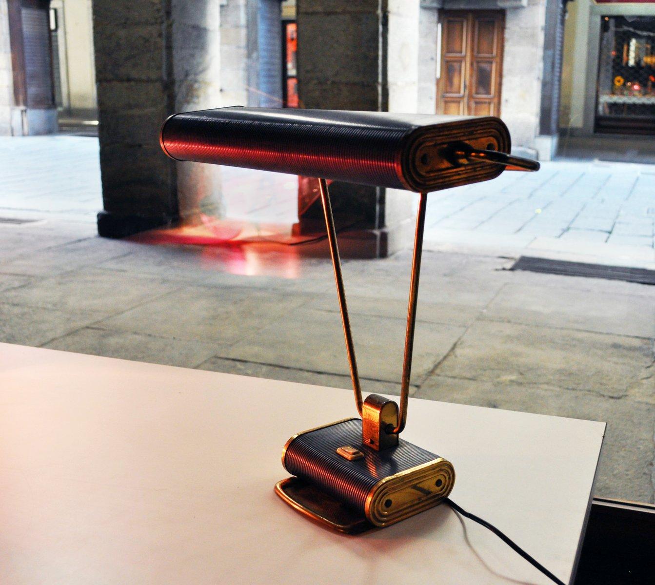 lampe de bureau par eileen gray pour jumo 1930s en vente sur pamono. Black Bedroom Furniture Sets. Home Design Ideas