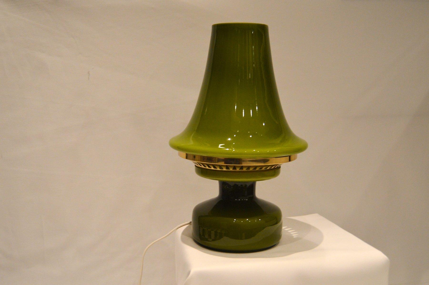 Grüne Vintage B124 Tischlampe von Hans-Agne Jakobsson