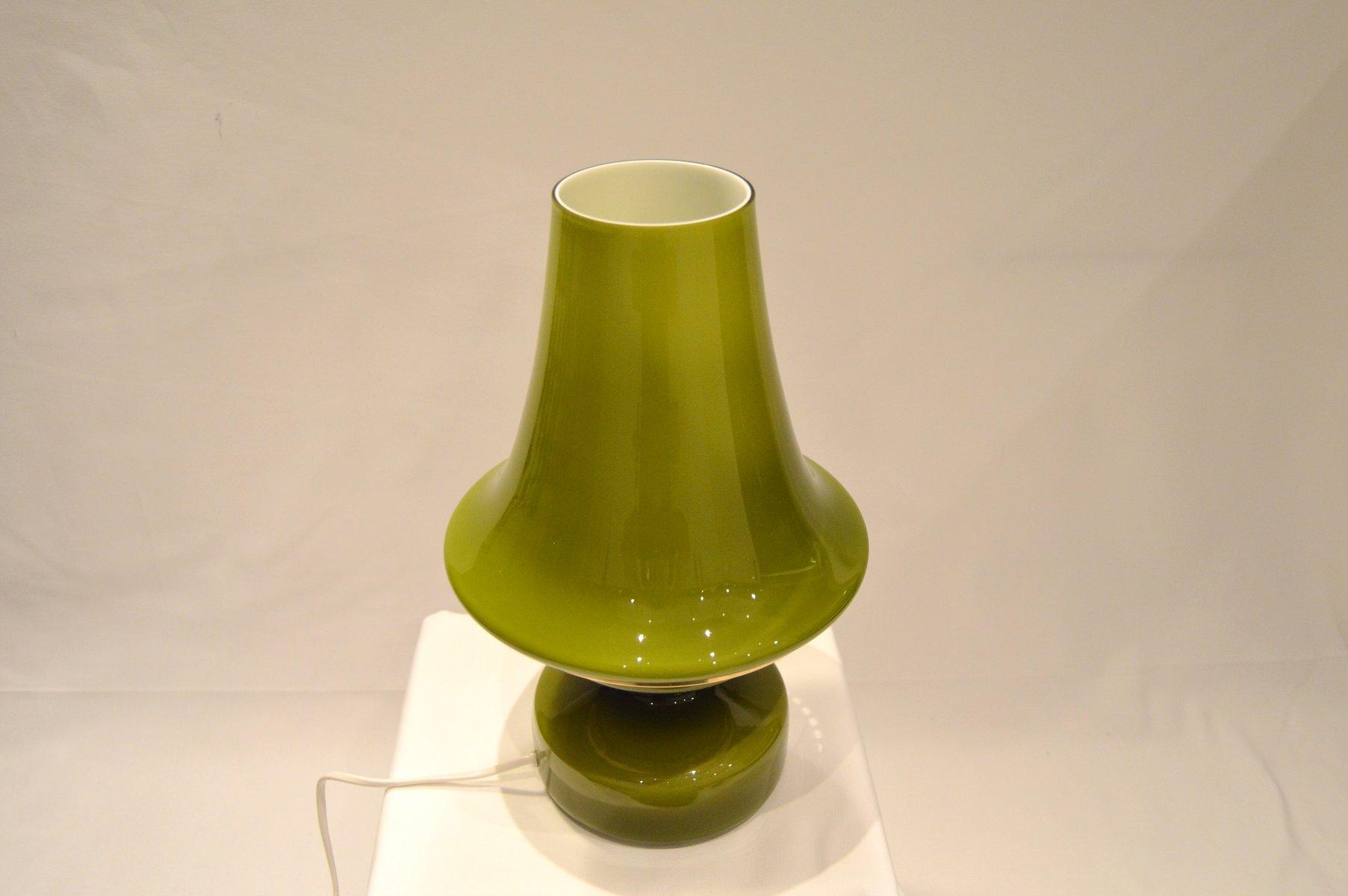 Grüne Mid-Century B124 Tischlampe von Hans-Agne Jakobsson