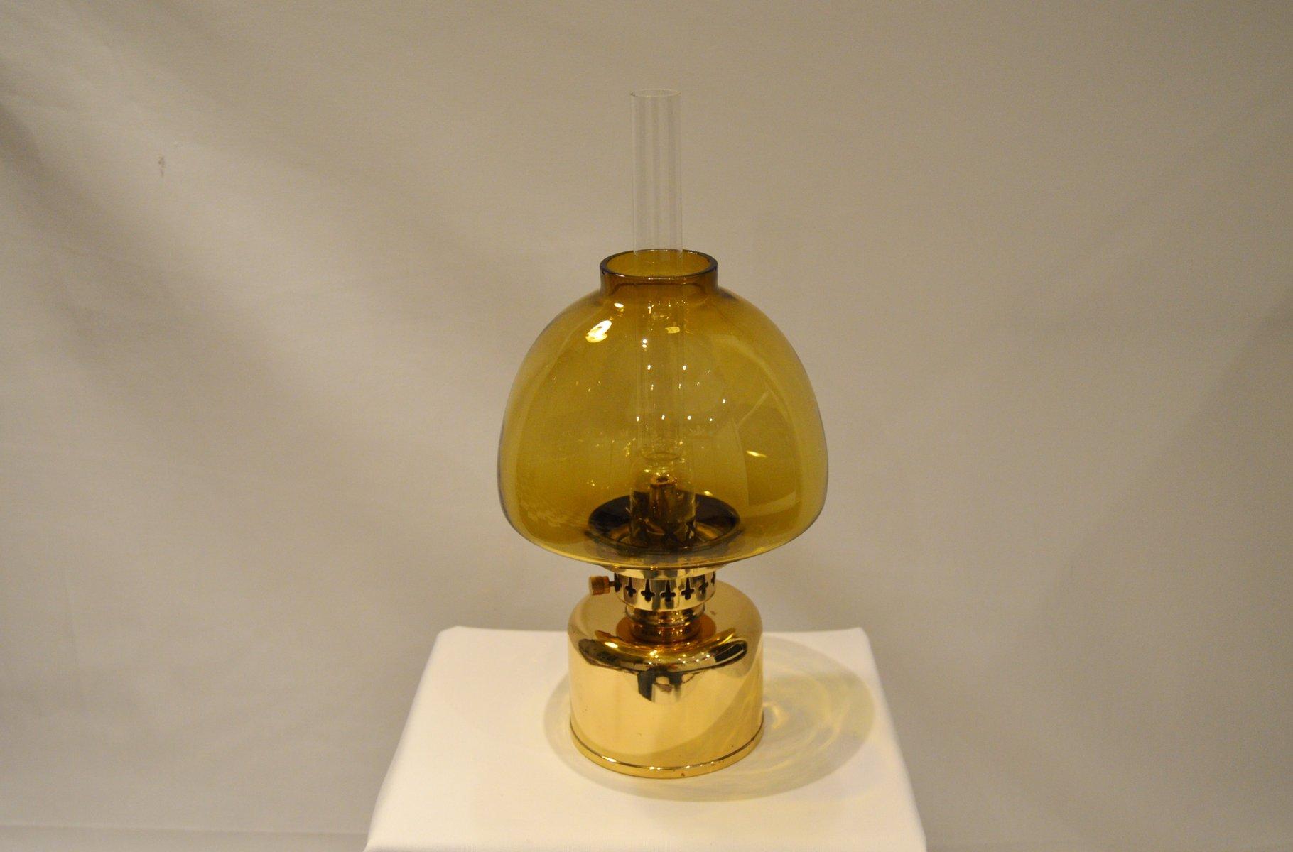 Schwedische Mid-Century Kerosin- oder Öllampe von Hans-Agne Jakobsson