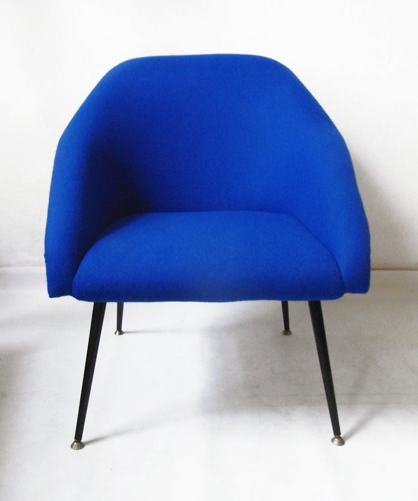 Blauer Clubsessel, 1960er