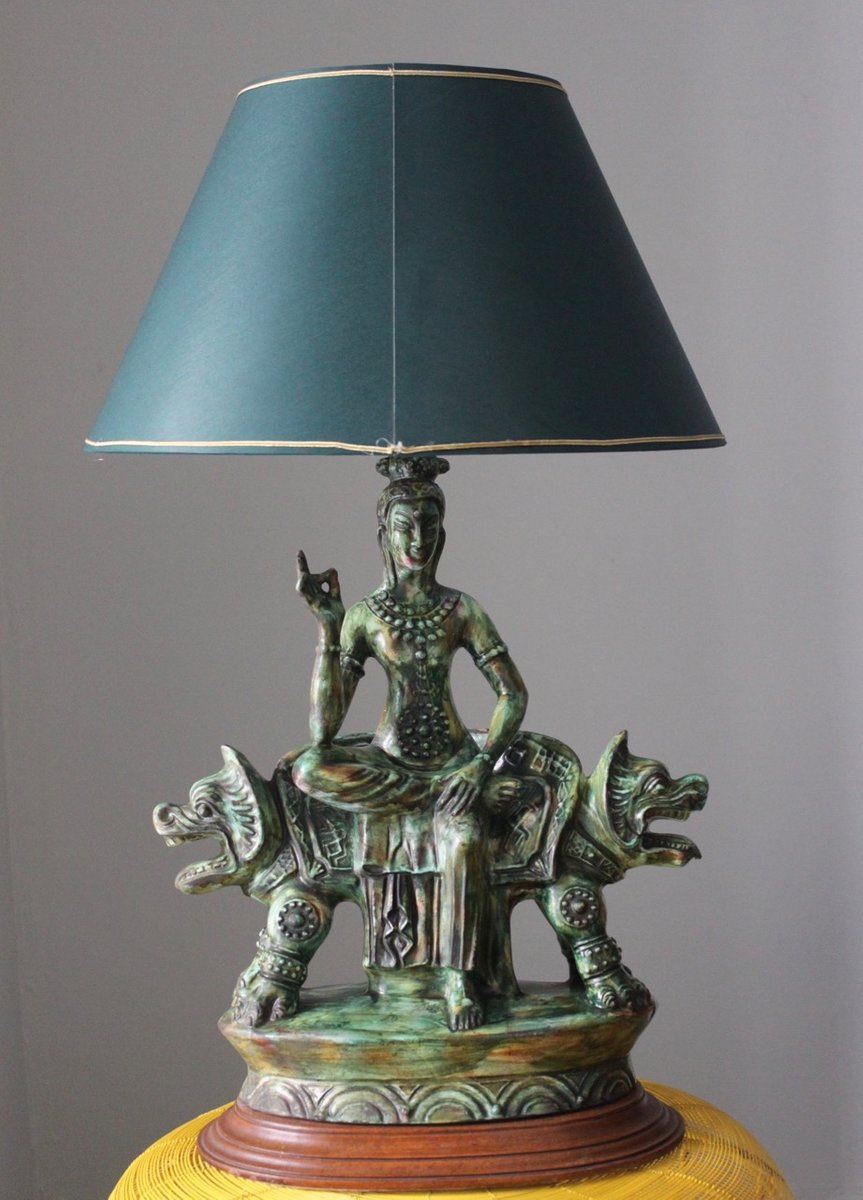 Buddha Lampe, 1960er