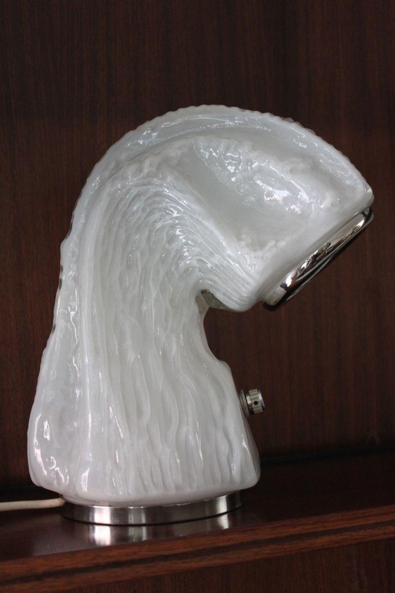 Italienische Skulpturale Tischlampe, 1970er