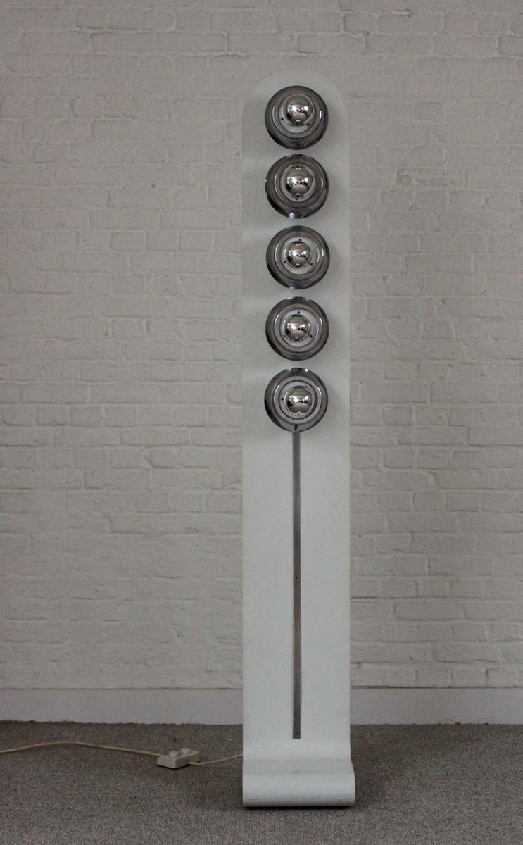 Stehlampe aus Metall, 1970er