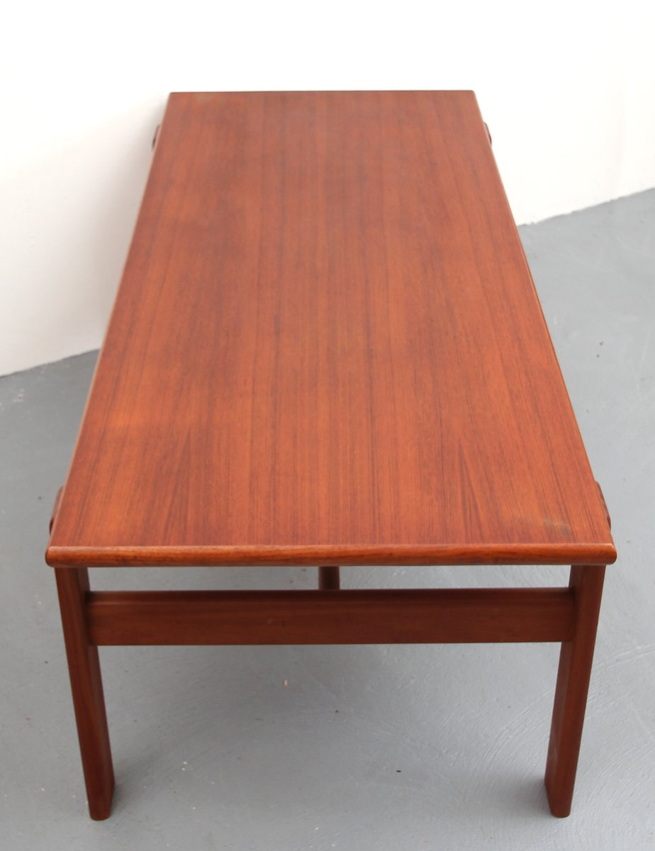Danish Teak Coffee Table from Komfort, 1960s for sale at ...