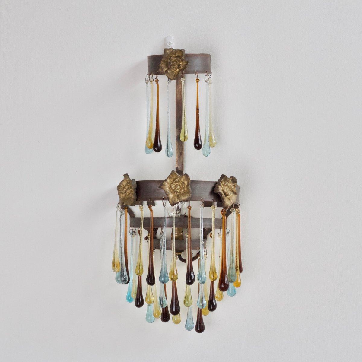 Kaskadierende Vintage Wandlampe
