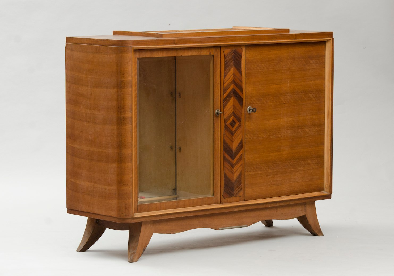 Kleines Vintage Art Deco Sideboard
