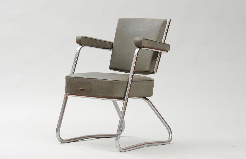Sedia da scrivania vintage modernista in vendita su pamono for Sedia scrivania design