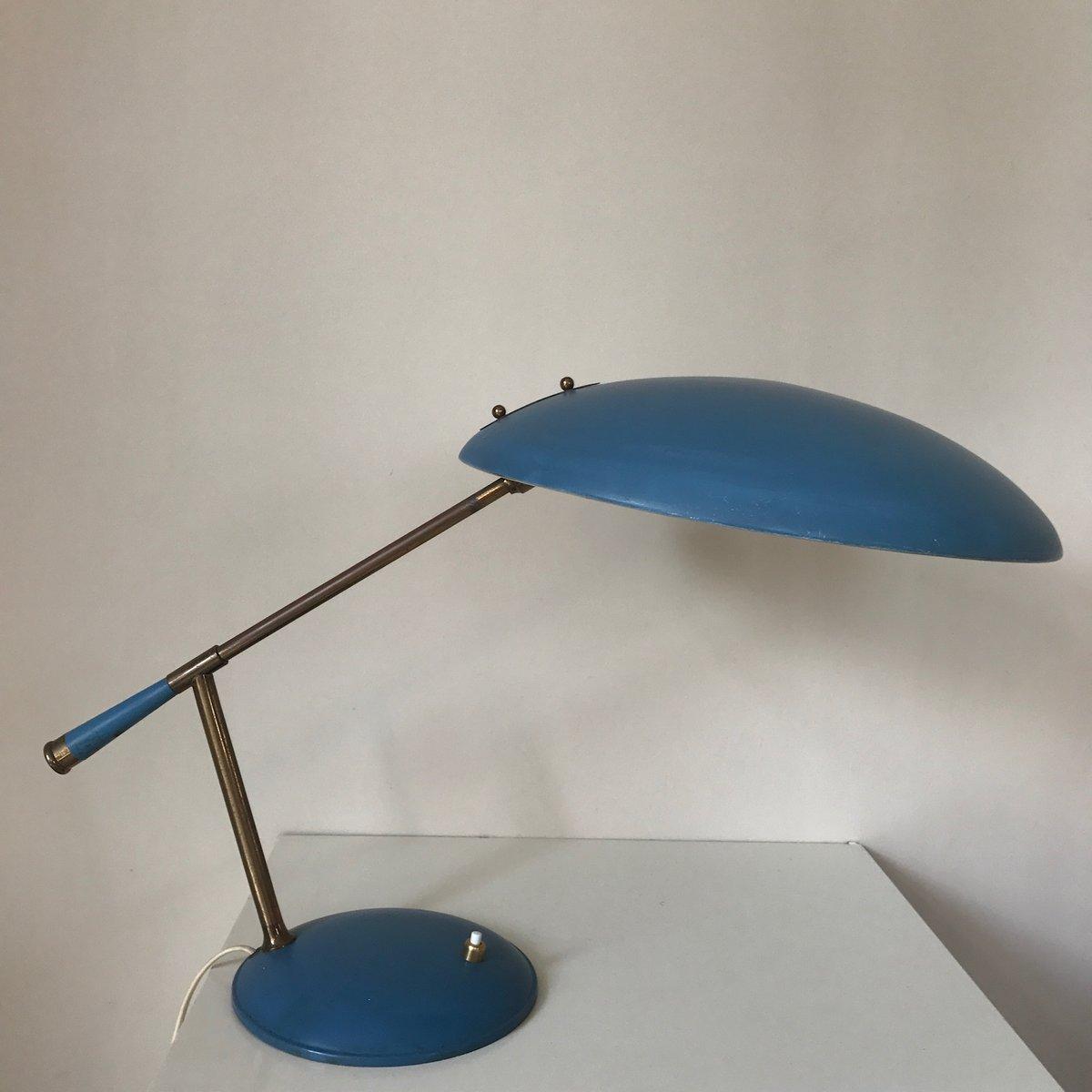 lampe de bureau par louis kalff pour philips 1960s en vente sur pamono. Black Bedroom Furniture Sets. Home Design Ideas