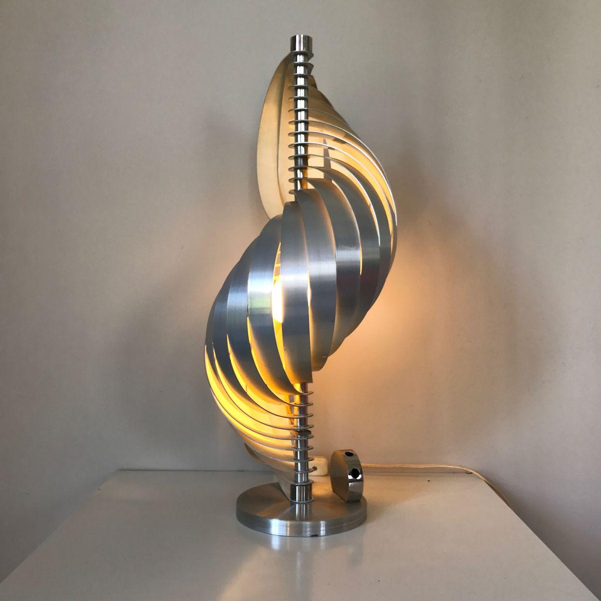 Tischlampe von Henri Mathieu, 1970er