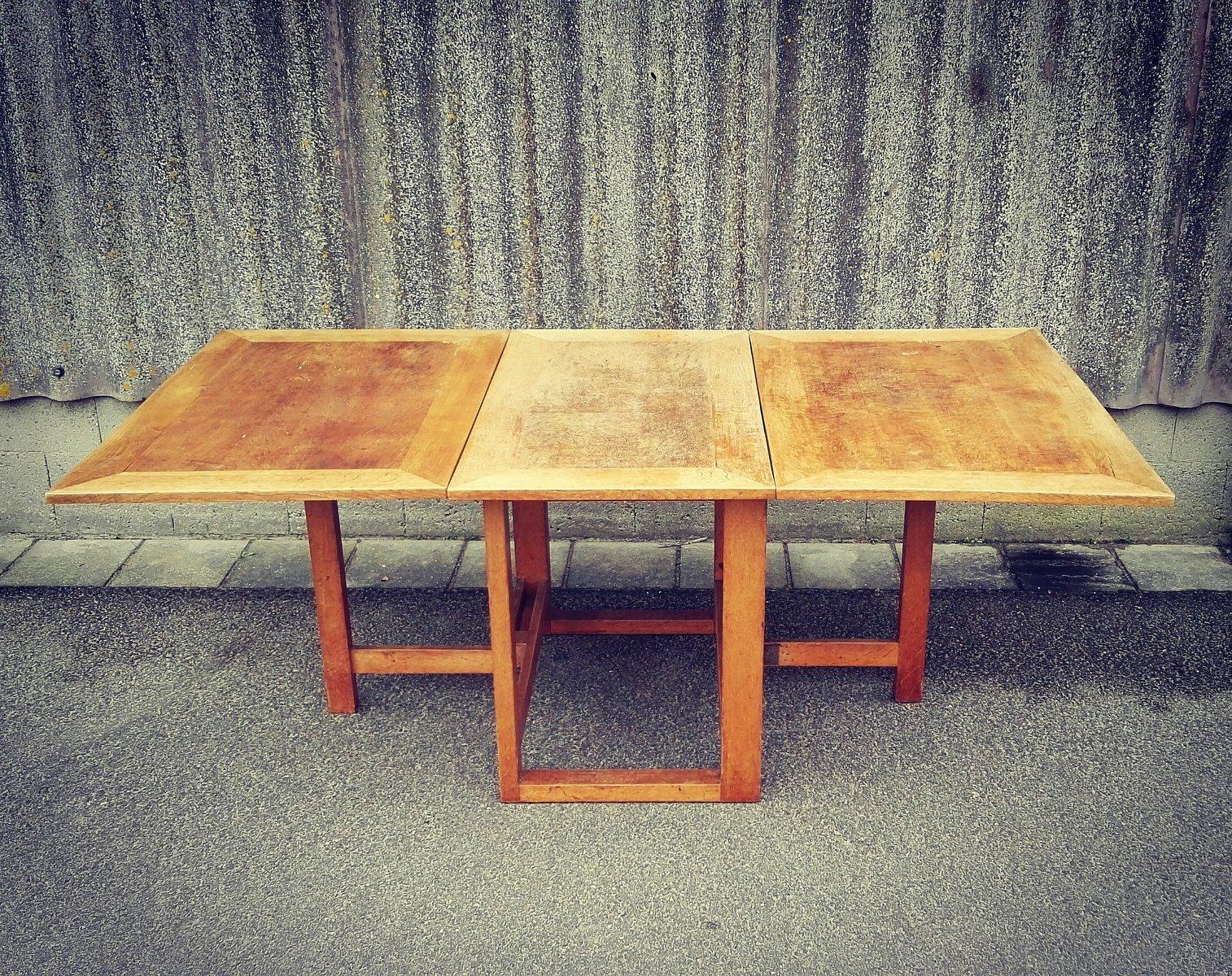 esstisch von j a muntendam f r lov oosterbeek 1920er bei pamono kaufen. Black Bedroom Furniture Sets. Home Design Ideas