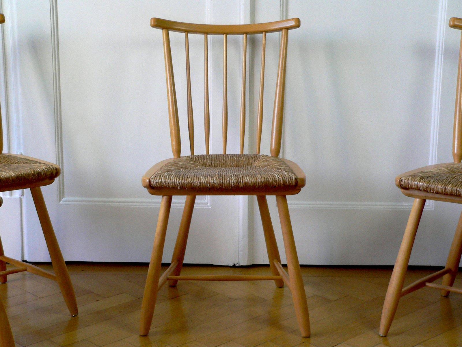mid century wks series st hle von arno lambrecht f r wk. Black Bedroom Furniture Sets. Home Design Ideas
